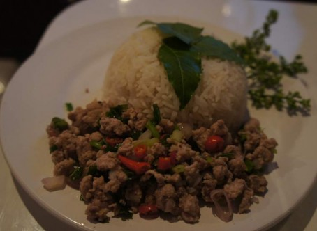 Laap Moo / Gai / Nua – Minced pork / chicken / beef