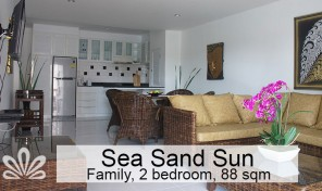 Rent two BR apartment in Rayong