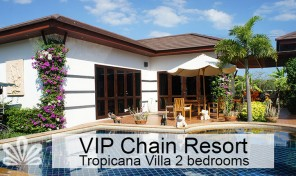 Tropicana Villa with private pool Rayong