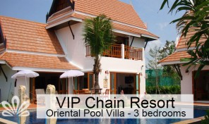 Luxury resort villa, with big private pool Rayong
