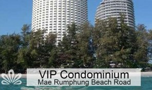 Rent 2 BR apartment 50m to beach, Rayong